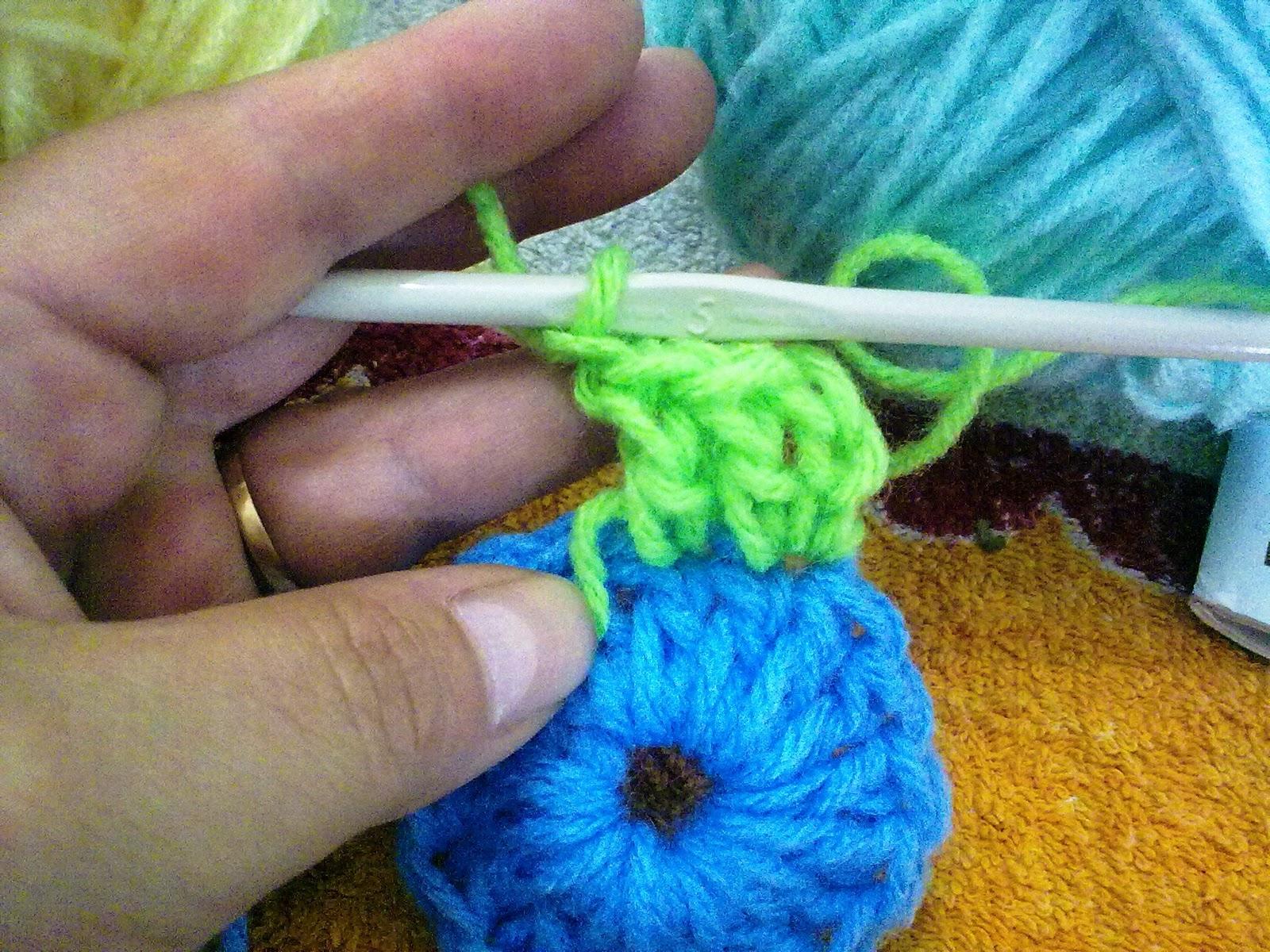 Como Tejer Flores a Crochet