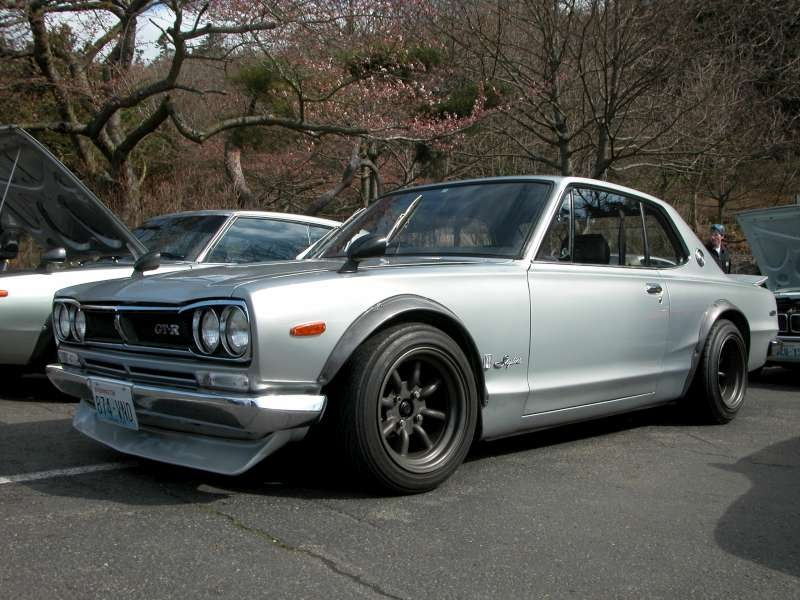 Hakosuka Race Car