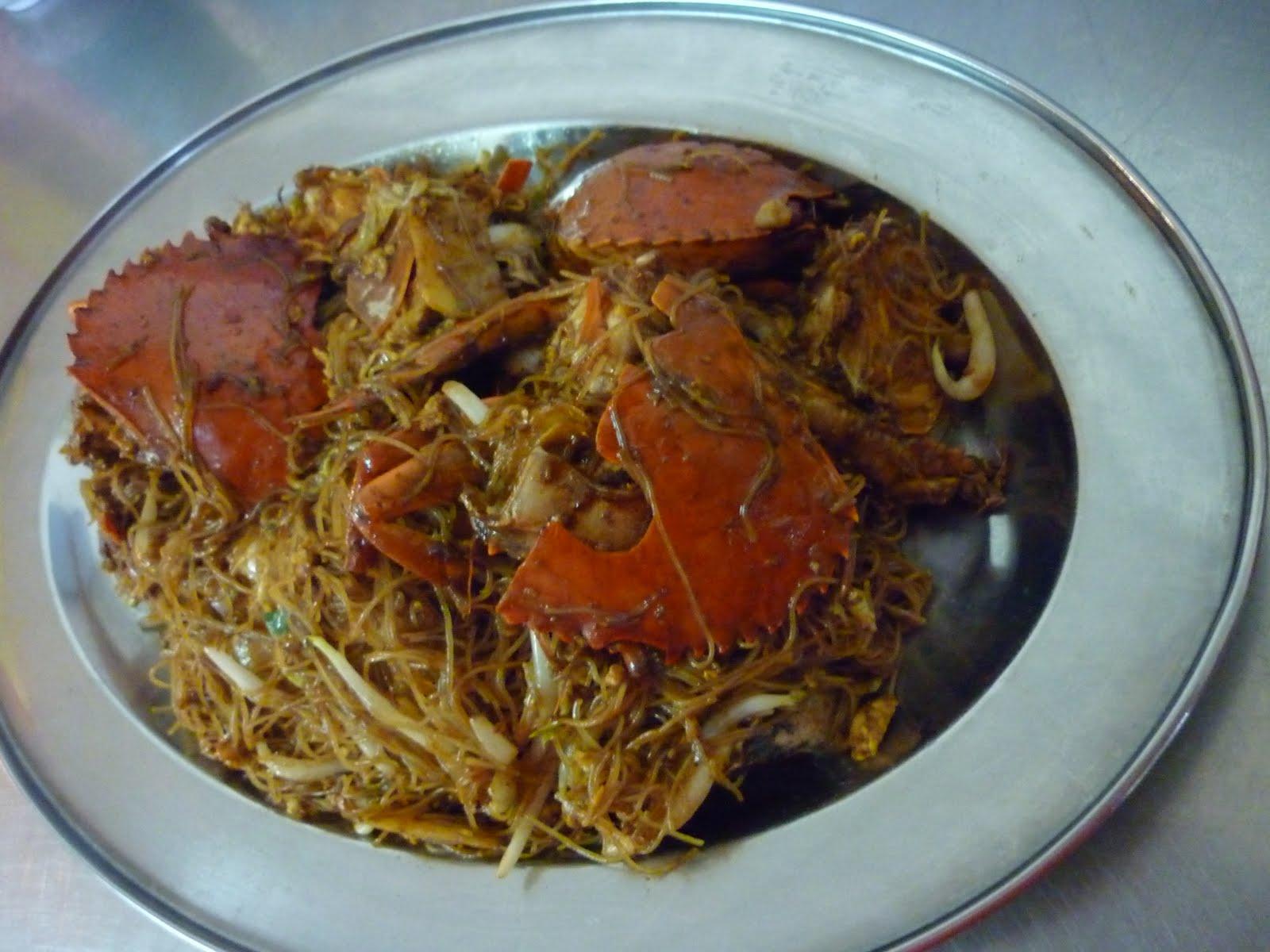 螃蟹炒米粉