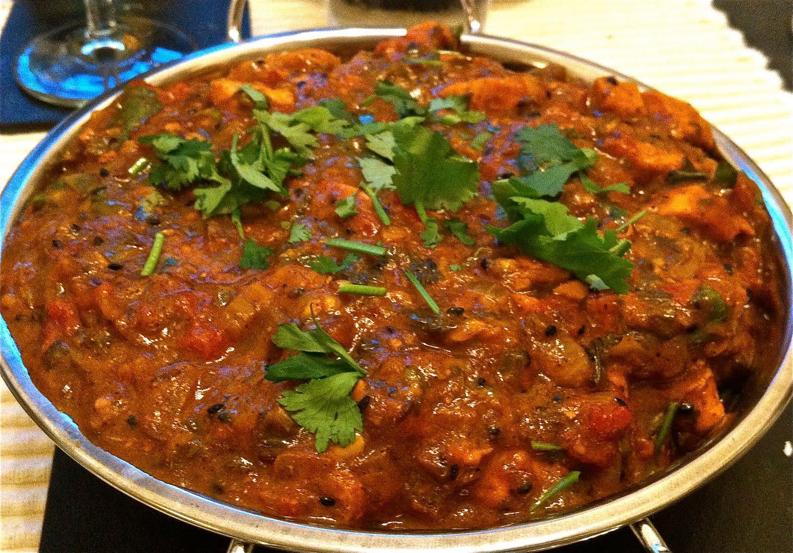 Recipe for chicken balti curry