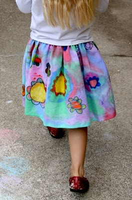 Creative ideas for you paint on clothing for Paint on clothes