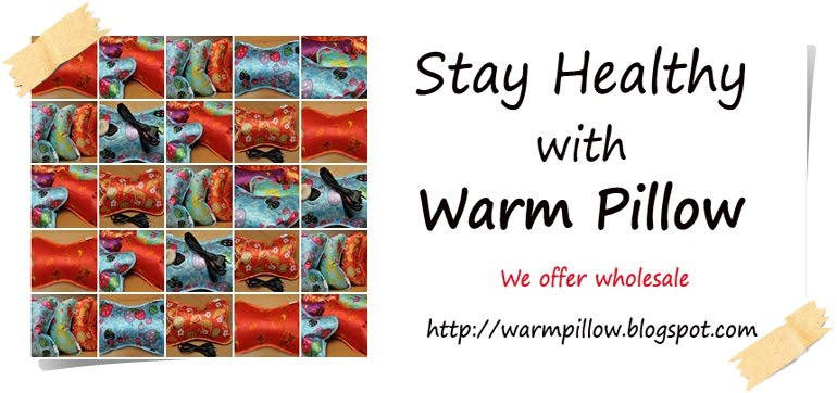 Stay Healthy with Warm Pillow