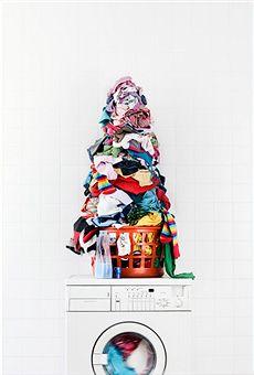 [laundry+pile]