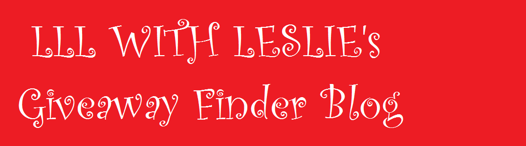 LLL WITH LESLIE'S GIVEAWAY FINDER BLOG