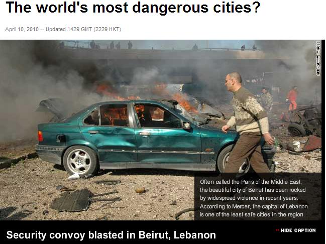 IBlooogle Do You Most Dangerous Cities In The World - The 10 most dangerous cities in the middle east