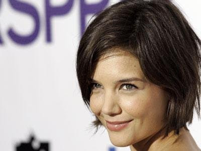 katie holmes bob hairstyle hairstyles for oblong face