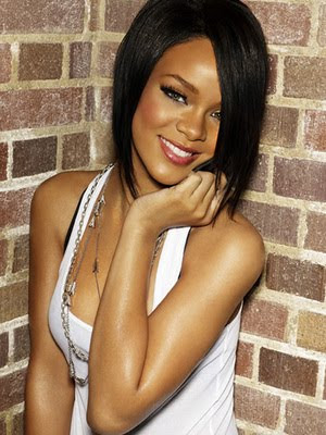 black hairstyles 2010. Rihanna#39;s new pixie hairstyle