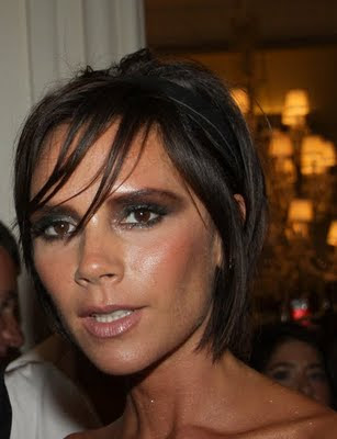 victoria beckham without makeup. victoria beckham short hair