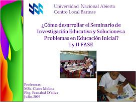 FASE 1-SEMINARIO DE INVESTIGACIÓN EDUCATIVA
