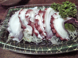 tako(octopus) sashimi