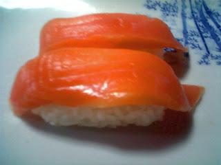 salmon no nigiri-zushi