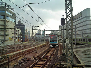scenery from ueno station