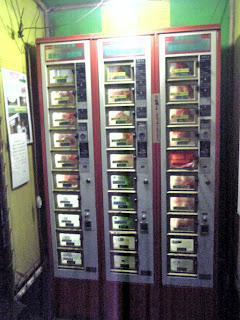 Egg Vending machine at Evening