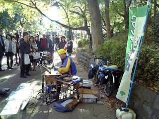 Heaven Artist in Ueno Park