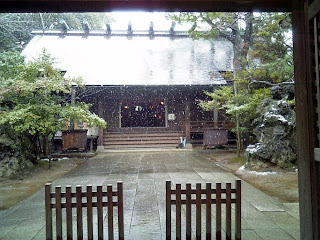 main hall of funabashi shrine
