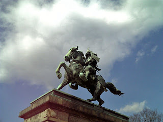 statue of Kusunoki Masashige in Imperial Palace Plaza