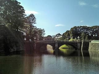 Nijyu-bashi(stone bridge)