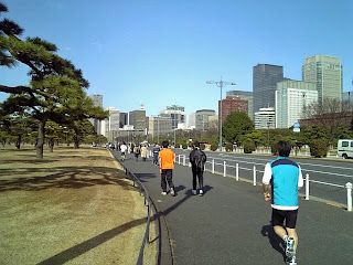 uchibori-dori at Imperial palace plaza