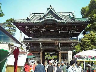 Nitenmon gate of shibamata taishakuten gate
