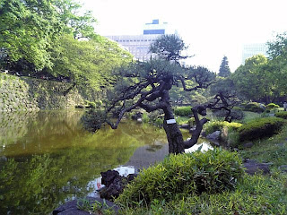 shinji-pond in hibiya park