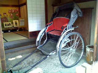 Rickshaw in yamamoto-tei