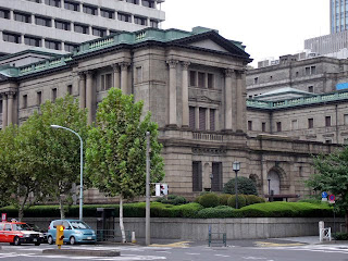 the old building of The Bank of Japan