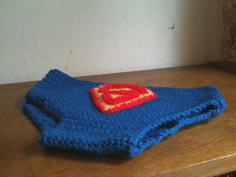 patron tricot slip homme