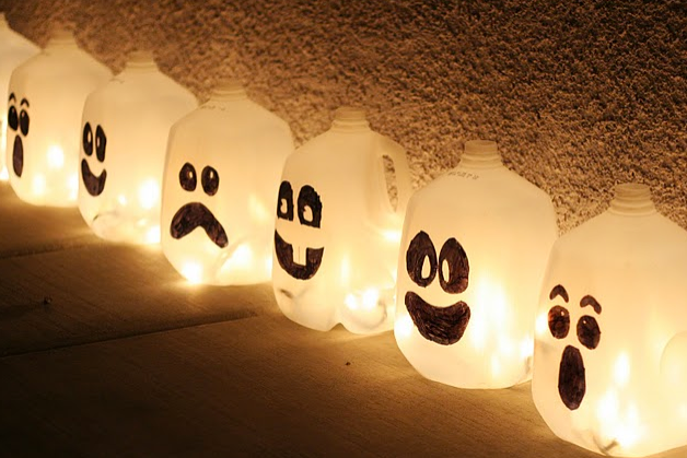 Frugal Life Project: Make These Adorable Halloween Lights!