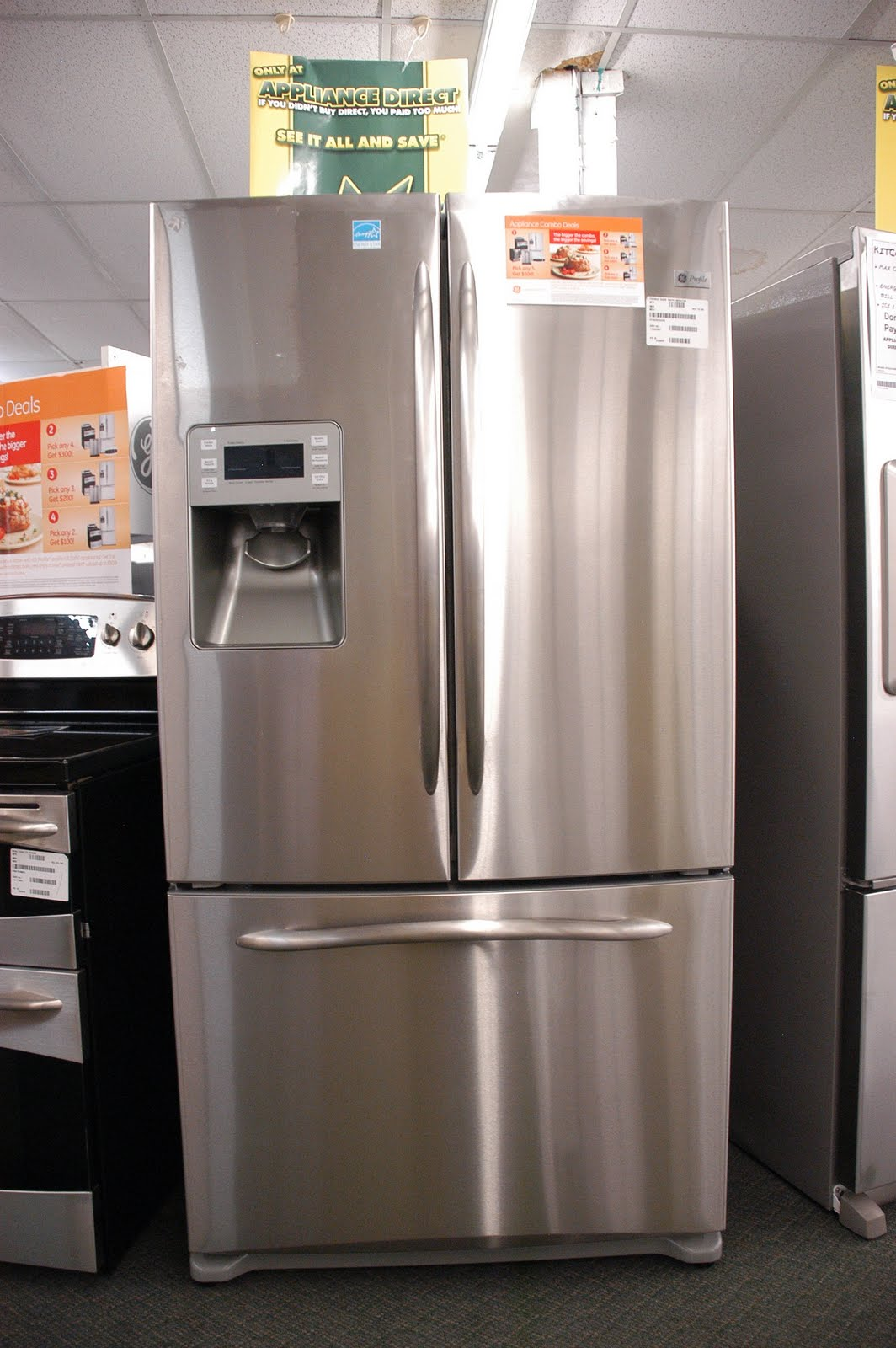 Appliance direct video blog ge profile energy star 258 cu ft ge profile energy star 258 cu ft french door refrigerator with external dispenser orlando appliance store rubansaba