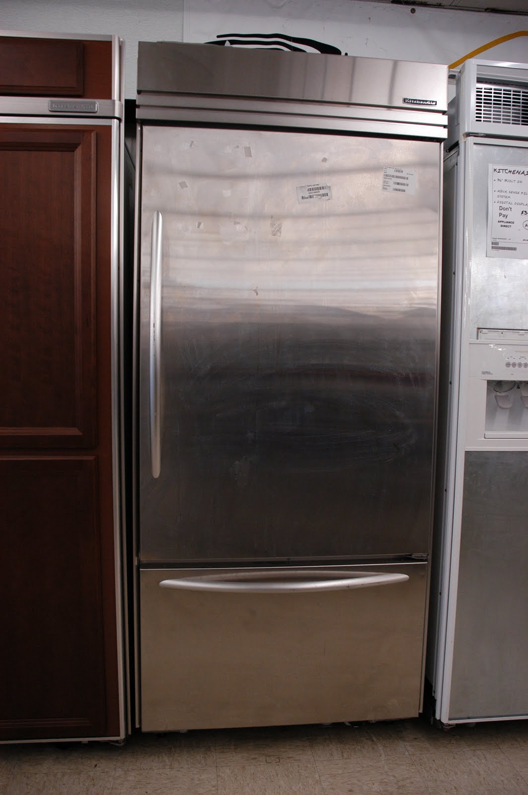Appliance Direct Video Blog Kitchenaid 20 4 Cu Ft Stainless Steel Bottom Freezer Refrigerator