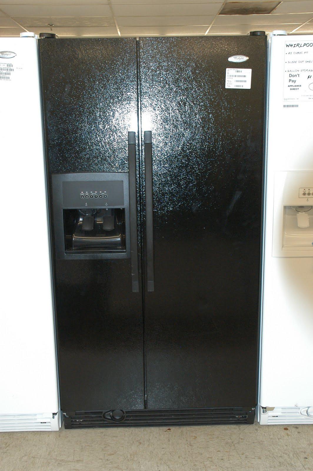 Appliance Direct Video Blog Whirlpool Black Side By Side
