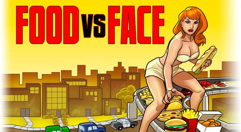 Food vs. Face