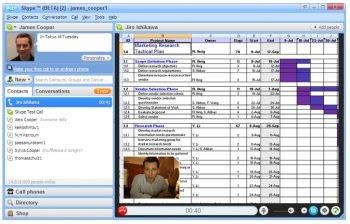 Skype Desktop Delen
