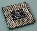 Bagian bawah prosesor Core i7