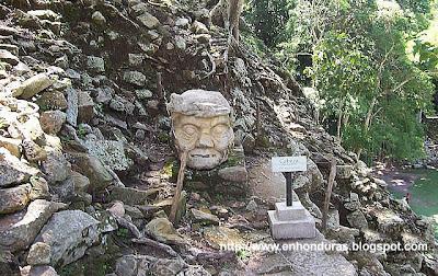 foto de copan ruinas