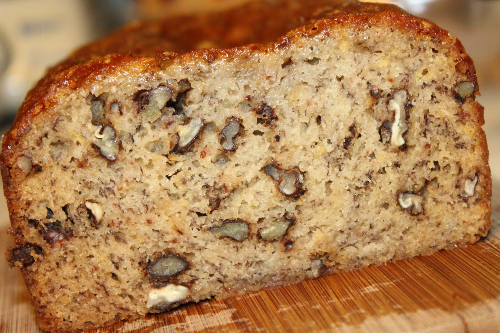 My View From The Avenue: Banana Nut Bread