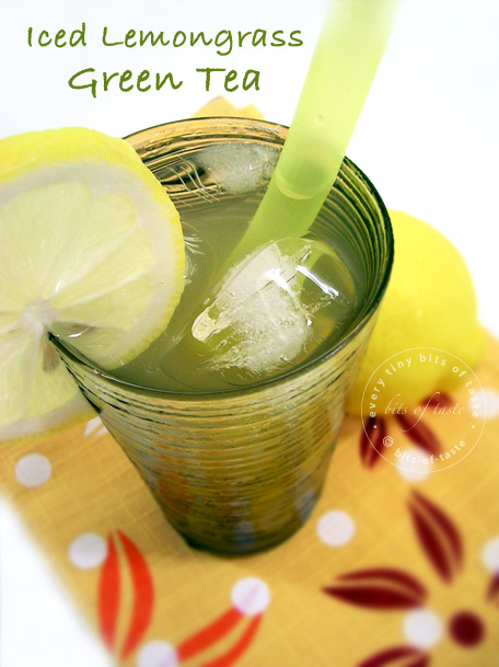 Iced Lemongrass Green Tea