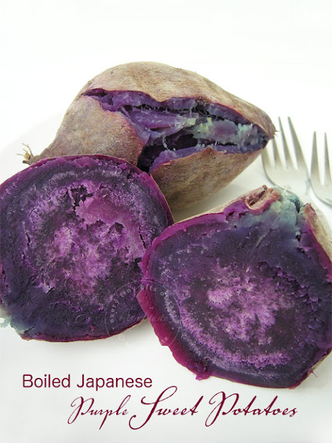 Japanese Purple Sweet Potatoes