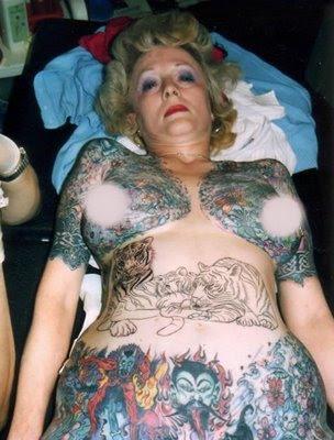tatuajes fuera de lo comun. Ha recorrido infinidad de certamenes de tatuajes por todo el mundo entre