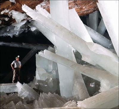 "Cueva de Cristales Gigantescos, ""Naica"""