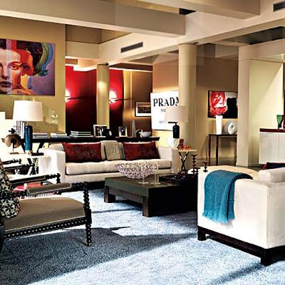 Living Room  York on Gossip Girl Gossip Girl S Bass  Van Der Woodsen New York Apartment Set