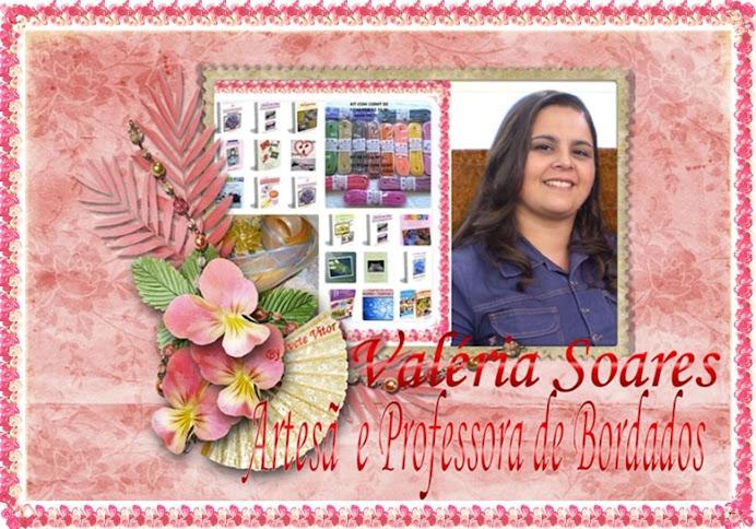 VALERIA SOARES - PROFESSORA DE BORDADOS