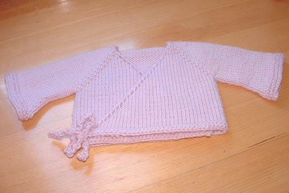 Child s Kimono Knitting Pattern : The Complete Fabrication: Bulky Seamless Baby Kimono