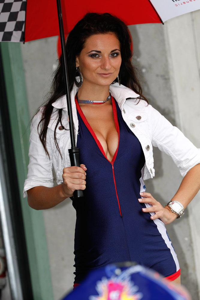 Umbrella Girl Motogp 2023