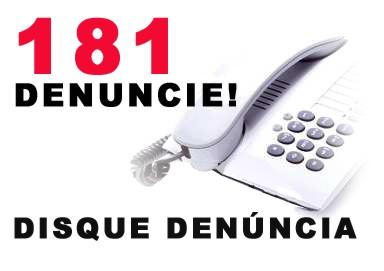 Denuncie crimes!