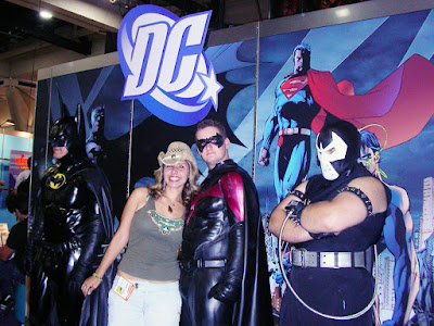 DC comic heroes