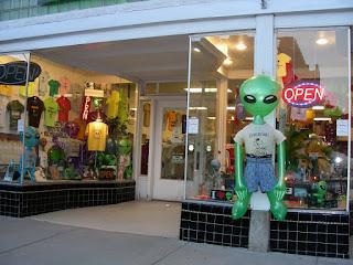 Roswell alien gift shop
