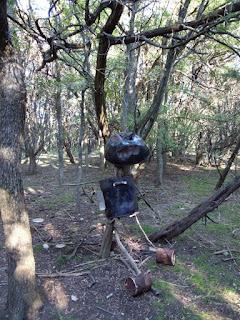 metal sculpture barbeque grill