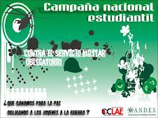Campaña por el derecho a la objeción de conciencia al servicio militar obligatorio