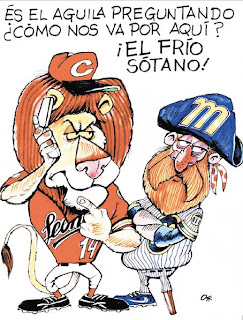 leones del caracas caricaturas y fotos - YouTube